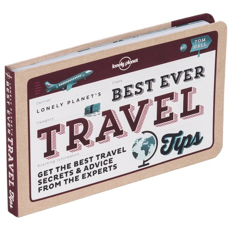 """Lonely Planet """"Best Ever Travel Tips"""" Paperback Book"""