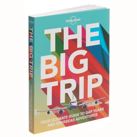"""Lonely Planet """"The Big Trip"""" Book - Paperback in See Photo"""