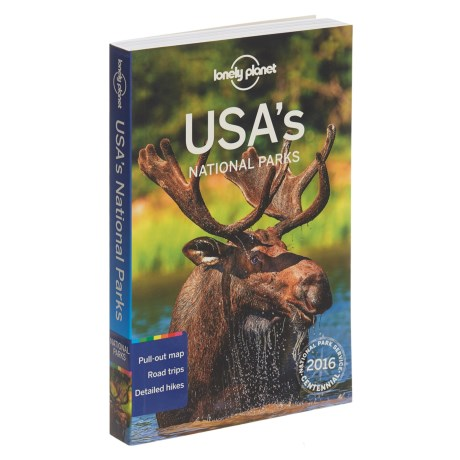 """Lonely Planet """"USA's National Parks"""" Book - Paperback in See Photo"""