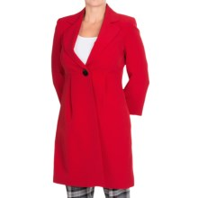 Long Lightweight Jacket (For Women) in Red - 2nds