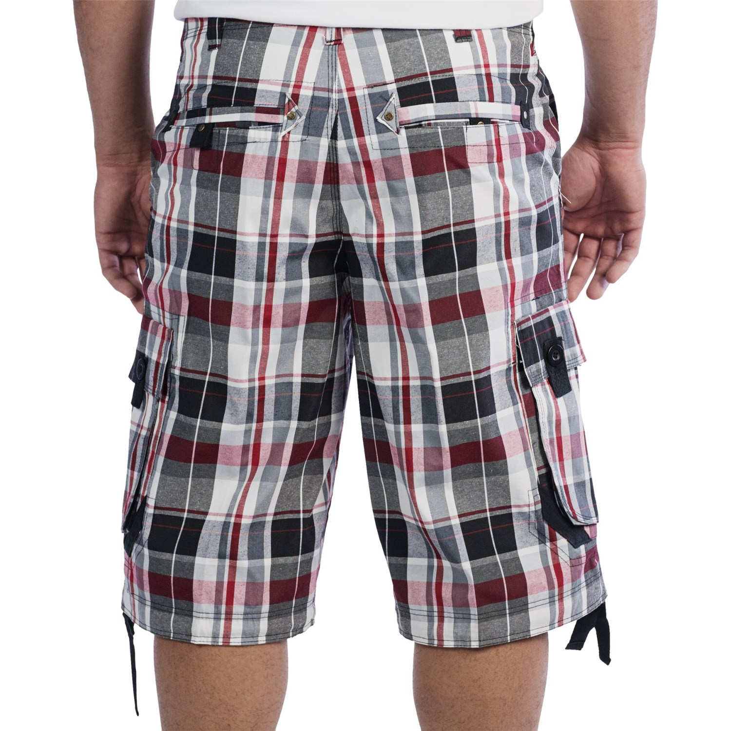 Plaid Mens Shorts - The Else