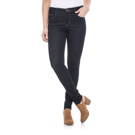 Long Stretch Skinny Jeans (For Women)