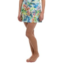 Longitude Tricot Cover-Up Skirt (For Women) in Romantic - Closeouts