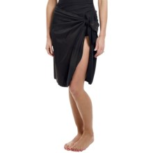 Longitude Tricot Sarong Cover-Up (For Women) in Gold Rush - Closeouts