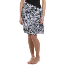 Longitude Tricot Sarong Cover-Up (For Women) in Silver Brushstrokes - Closeouts