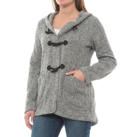 Image of Longs Peak Hooded Cardigan Sweater (For Women)