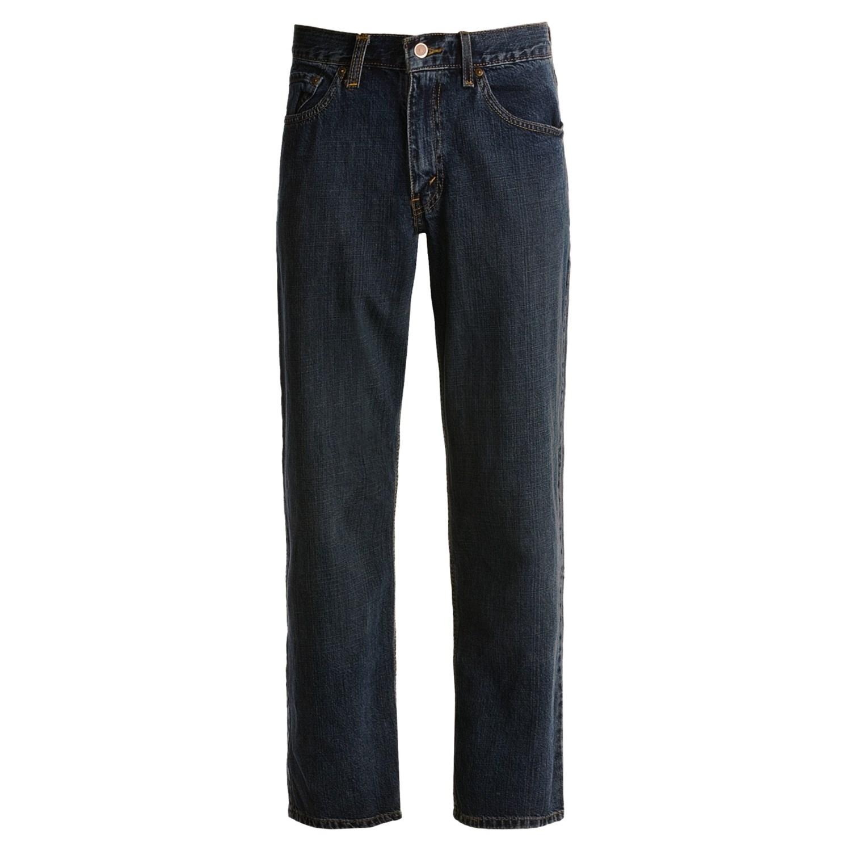 Свободные джинсы