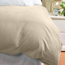 Loric Home Styles 5 oz. Cotton Flannel Duvet Cover - Twin in Stone - Overstock