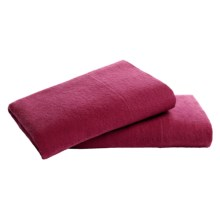 Loric Home Styles 5 oz. Cotton Flannel Pillowcases - Standard, Set of 2 in Pomegranate - Overstock