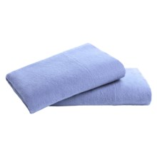 Loric Home Styles 5 oz. Cotton Flannel Pillowcases - Standard, Set of 2 in Twilight Blue - Overstock