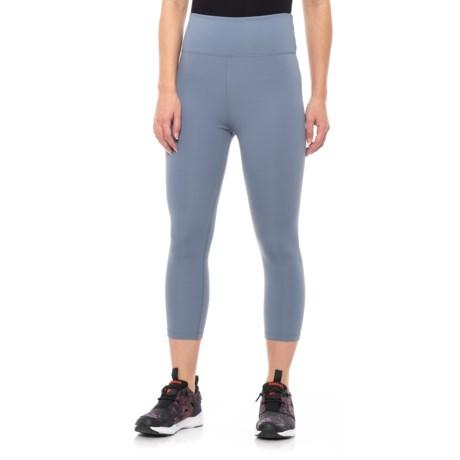 478cd44ce775 Lorna Jane Bettina Crop Tights (For Women) in Powder Grey