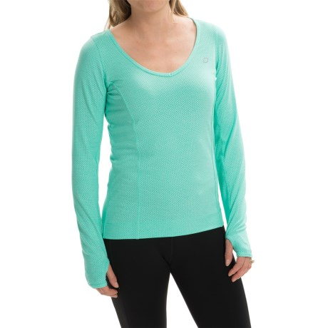 Lorna Jane Emi Excel Mesh Shirt Long Sleeve (For Women)