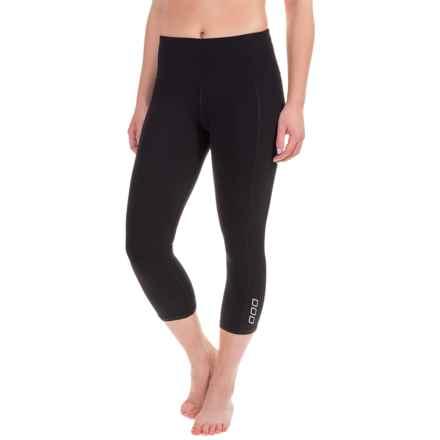 Lorna Jane High-Intensity Capri Leggings (For Women) in Black - Closeouts
