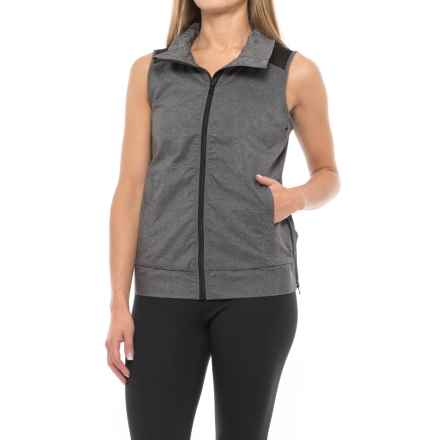 Lorna Jane Power Active Vest (For Women) in Black Marl - Closeouts