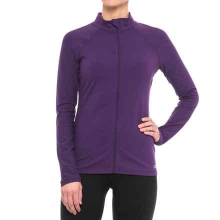 Lorna Jane Warmdown Jacket (For Women) in Plum - Closeouts