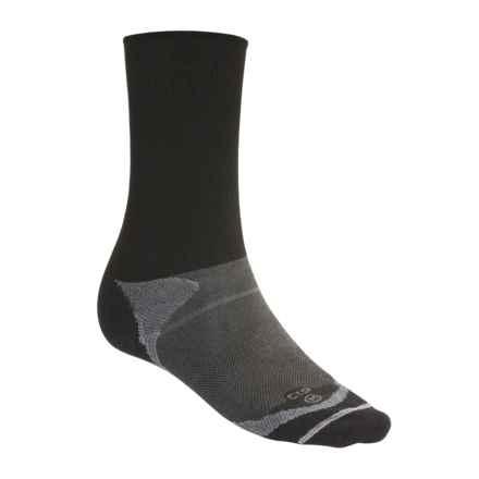 Lorpen Antibacterial Liner Socks (For Men and Women) in Black - 2nds