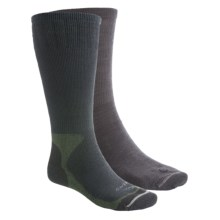 Lorpen Cold-Weather Sock System - Merino Wool, Over-the-Calf (For Men and Women) in Conifer - 2nds