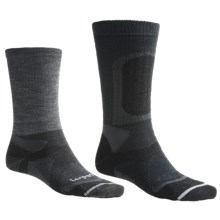 Lorpen Cold-Weather System Stalker Hunting Socks - Merino Wool, Crew (For Men and Women) in Charcoal - 2nds