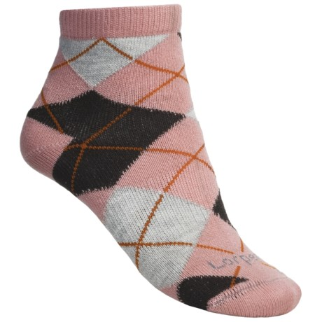 Lorpen Comfort Life Carly Ankle Socks - Modal (For Women) in Pink/Coco