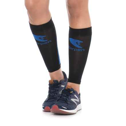 Lorpen Compression Calf Sleeves (For Women) in Black - Closeouts