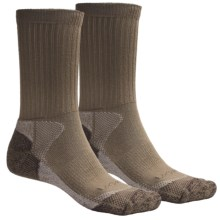 Lorpen CoolMax® Hunting Socks - Lightweight, 2-Pack (For Men and Women) in Khaki - 2nds