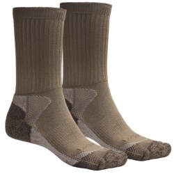 Lorpen CoolMax® Hunting Socks - Lightweight, 2-Pack (For Men and Women) in Khaki
