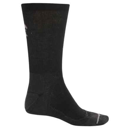 Lorpen CoolMax® Liner Socks - Crew (For Men and Women) in Black - 2nds
