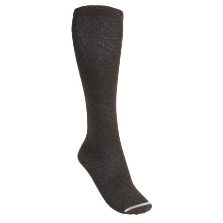 Lorpen Gabrielle Boot Socks - Modal, Over-the-Calf (For Women) in Chocolate