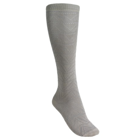 Lorpen Gabrielle Boot Socks - Modal, Over-the-Calf (For Women) in Oatmeal