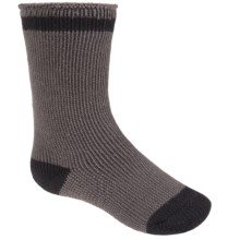 Lorpen Heat Trap Socks - Heavyweight, Crew (For Kids) in Charcoal - 2nds