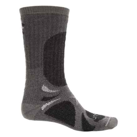 Lorpen Heavyweight Trekker Socks - PrimaLoft®-Merino Wool, Crew (For Men and Women) in Charcoal - Closeouts