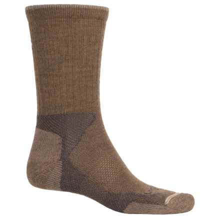Lorpen Hiking Socks - Crew (For Men and Women) in Brown - Closeouts
