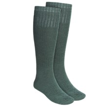 Lorpen Hunting Socks - 2-Pack, Merino Wool, Over-the-Calf (For Men and Women) in Conifer - 2nds