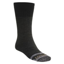Lorpen Italian Merino Wool Work Socks - Midweight, 2-Pack (For Men and Women) in Anthracite - 2nds