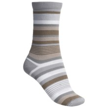 Lorpen Leah Socks - Crew (For Women) in Natural/Grey - 2nds