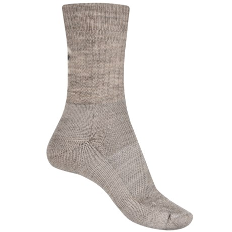 Lorpen Light Hiker Socks - Merino Wool, 3/4 Crew (For Women) in Oatmeal
