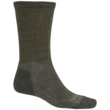 Lorpen Light Hiker Socks - Merino Wool, Crew (For Men) in Forest Shade - Closeouts