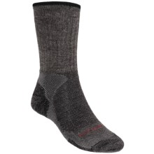 Lorpen Light-Midweight Hiking Socks - Italian Merino Wool, 2 Pack (For Men and Women) in Charcoal - 2nds