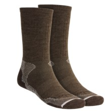 Lorpen Light-Midweight Hiking Socks - Italian Merino Wool, 2 Pack (For Men and Women) in Earth - 2nds