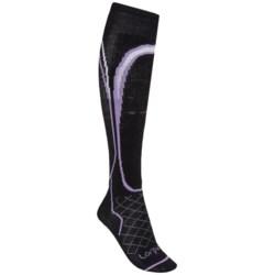 Lorpen Light Ski Socks - Merino Wool (For Women) in Black