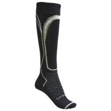 Lorpen Light Ski Socks - Merino Wool (For Women) in Navy - 2nds