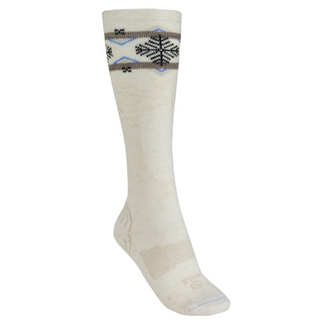 Lorpen Lightweight Ski Socks - PrimaLoft®, Merino Wool (For Women) in Cream