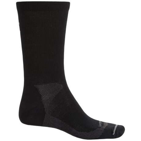 Lorpen Liner Socks - Merino Wool, Crew (For Men and Women) in Black