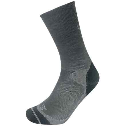 Lorpen Liner Socks - Merino Wool, Crew (For Men and Women) in Grey - 2nds