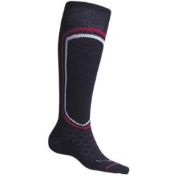 Lorpen Merino Light Classic Ski Socks (For Men) in Navy Blue