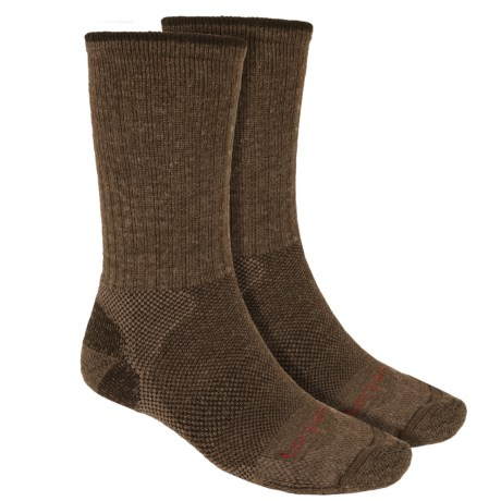 Lorpen Merino Wool Hiker Socks - 2-Pack, Crew (For Men and Women)