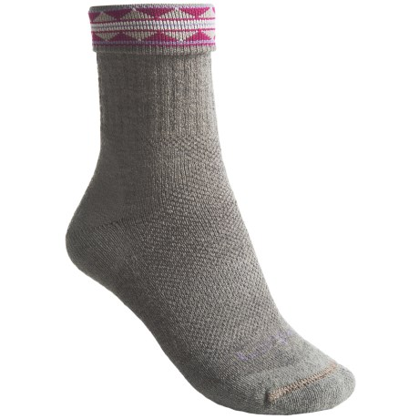 Lorpen Midweight Hiking Socks - Merino Wool, Crew, 2-Pack (For Women) in Silver Grey