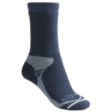 Lorpen Midweight Hiking Socks - Merino Wool, Crew (For Women) in Denim - 2nds