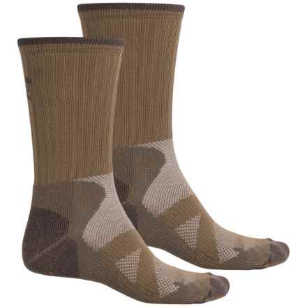 Lorpen Modal Hiker Socks - 2-Pack, Mid Calf (For Men and Women) in Desert Sand - Closeouts
