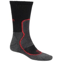 Lorpen Nordic Ski Thermolite® Crew Socks (For Men and Women) in Black - Closeouts